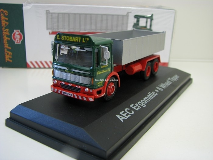 AEC Ergomatic 6 Wheel Tipper 1:76 Atlas Stobart